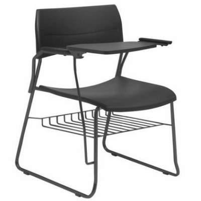 Cadeira Universitária Polipropileno Prancheta Fixa Nina