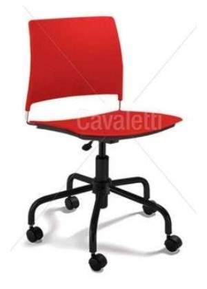 Cadeira Giratória Polipropileno S/B  CG3400312 GO Cavaletti