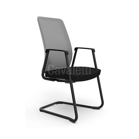 Cadeira Escritório Fixa Tela PF4210602 Velo Cavaletti