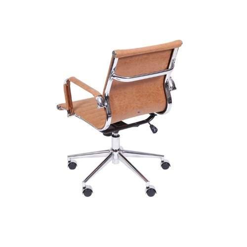 Cadeira Diretor Giratória Retro com Braço – Charles Eames
